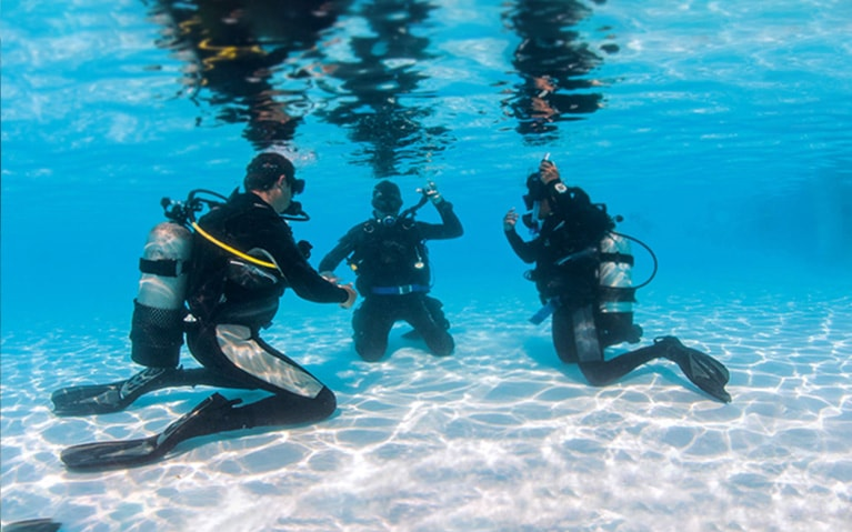 Diving Courses at Fushifaru Maldives