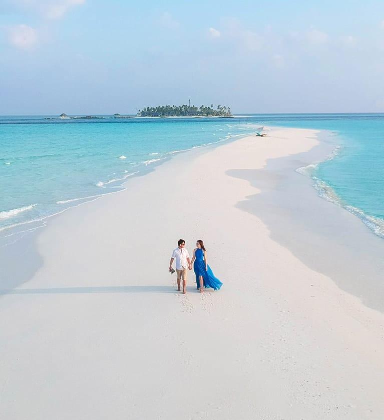 Sandbank - Fushifaru Maldives