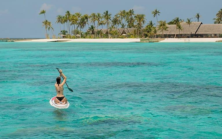 Paddle Boats & Kayaks Rents at Fushifaru Maldives