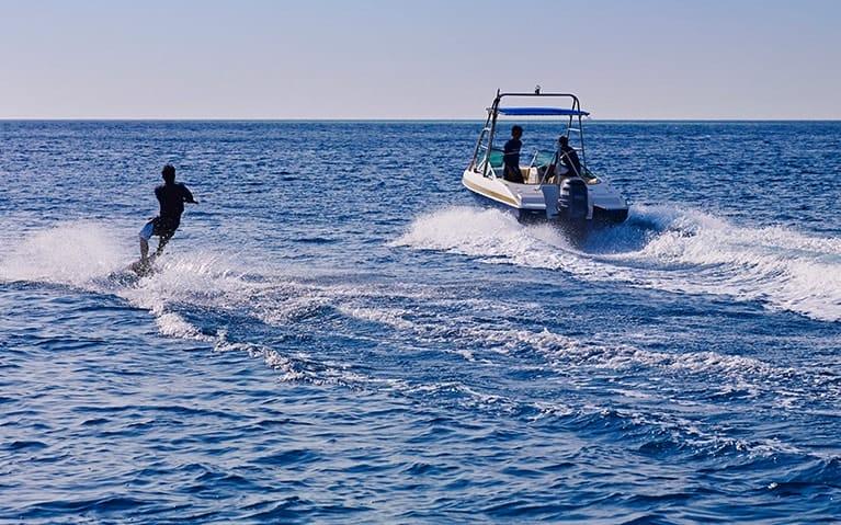 Wake Boarding at Fushifaru Maldives
