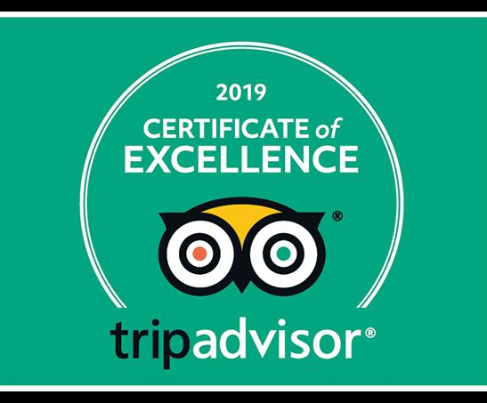 Fushifaru receives Tripadvisor Certificate of Excellent