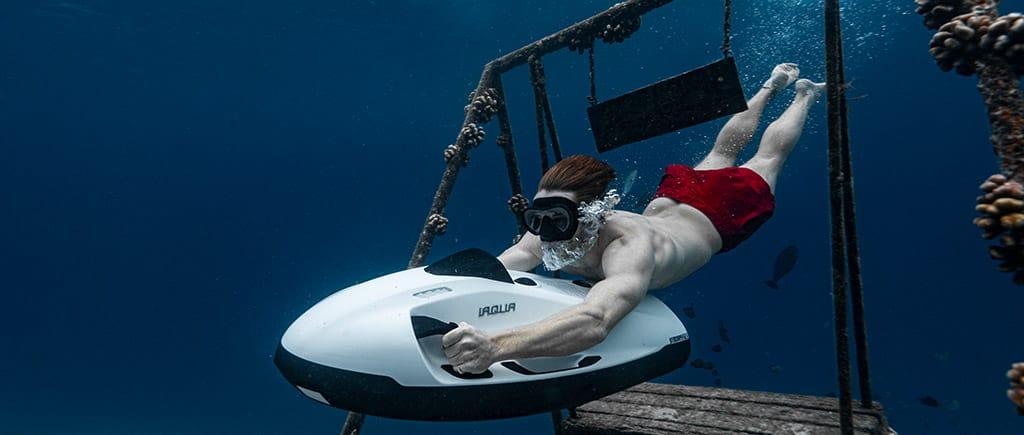 Underwater Playground at Fushifaru Maldives