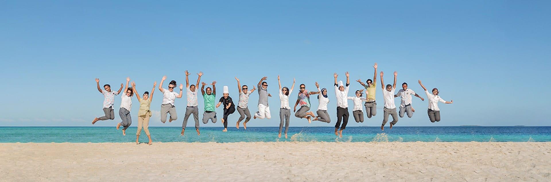 Team Fushifaru Resort Maldives
