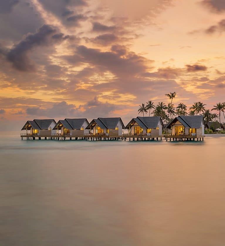 Aerial view of Fushifaru Maldives Resort