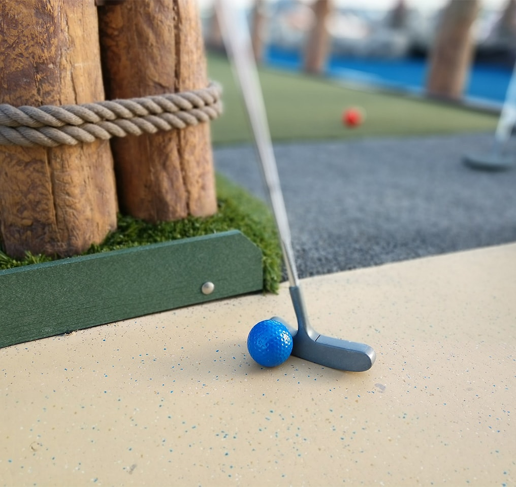 Mini Golf at Fushifaru Maldives