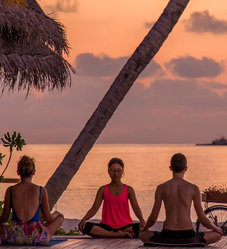 Yoga - Fushifaru Maldives