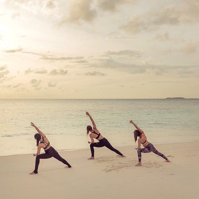 Hatha Yoga at Fushifaru Maldives