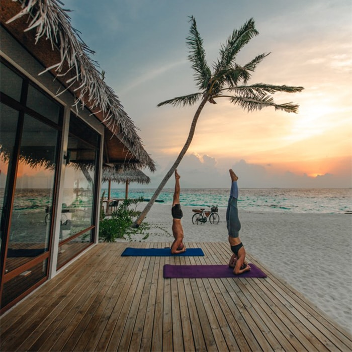 Vinyasa Flow at Fushifaru Maldives