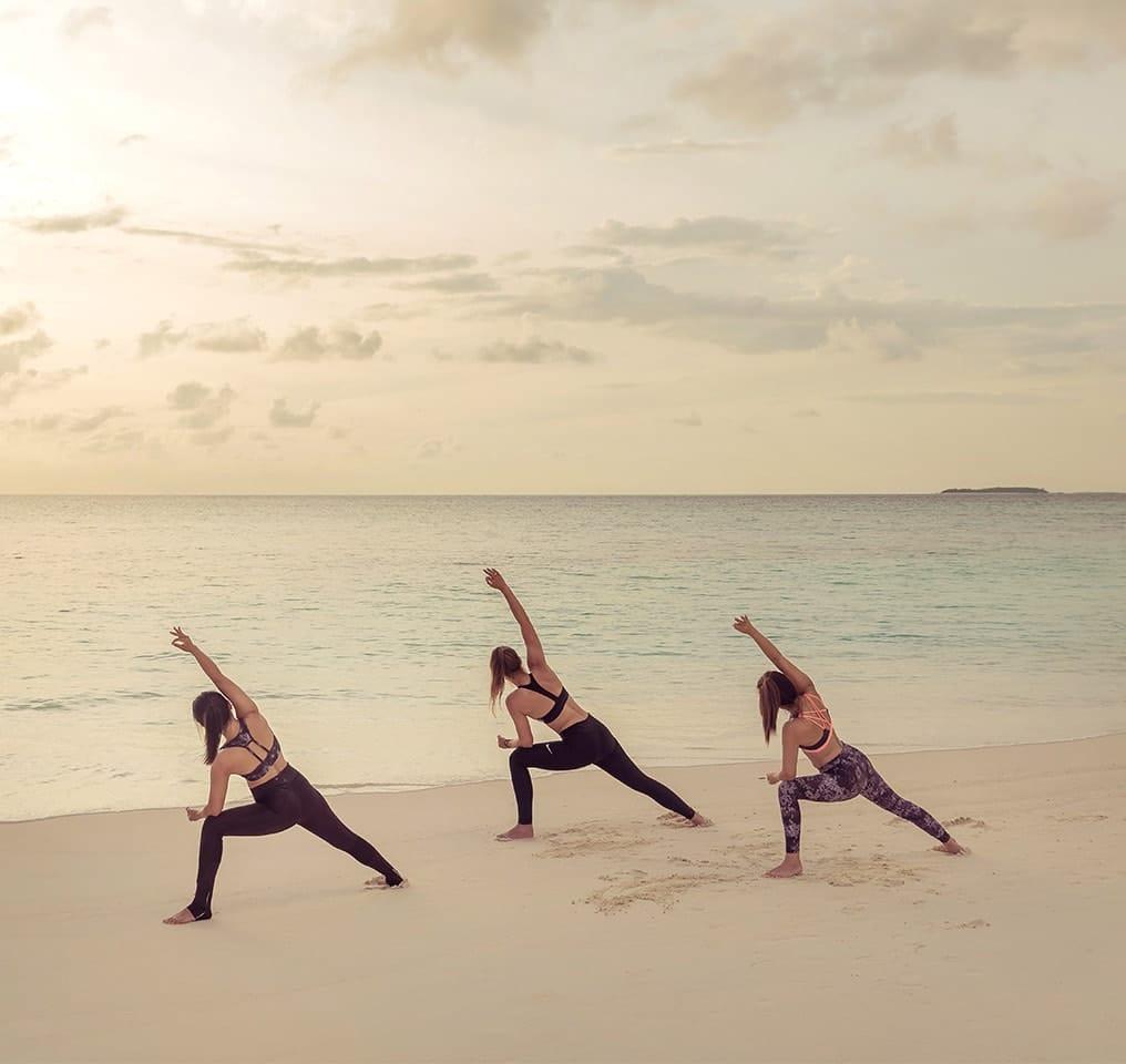 Yoga at Fushifaru Maldives